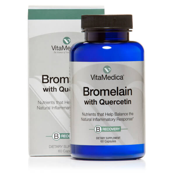 VitaMedica Bromelain with Quercetin Bottle